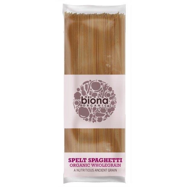 Organic Wholegrain Spelt Spaghetti 495g by Biona