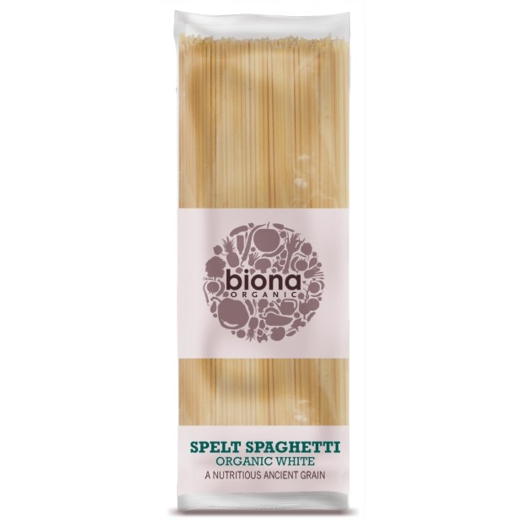Organic White Spelt Spaghetti 500g by Biona