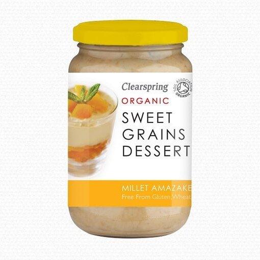 Organic Millet Amazake Sweet Japanese Grain Dessert 370g by Clearspring