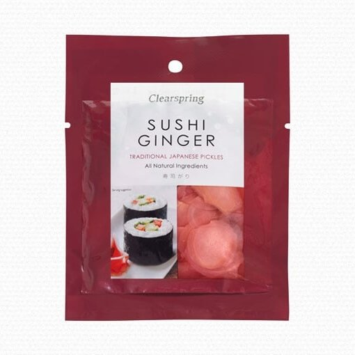 Japanese Sushi Ginger 50g by Clearspring
