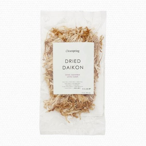 Dried Japanese White Radish (Daikon) 40g by Clearspring