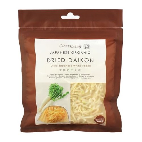 Organic Dried Japanese White Radish (Daikon) 40g by Clearspring