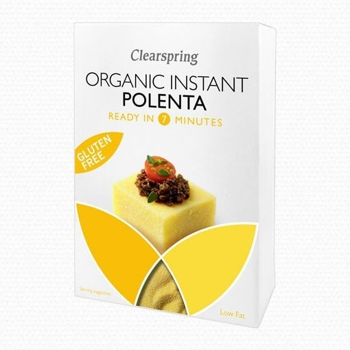Organic Instant Polenta 200g by Clearspring (Gluten-Free)