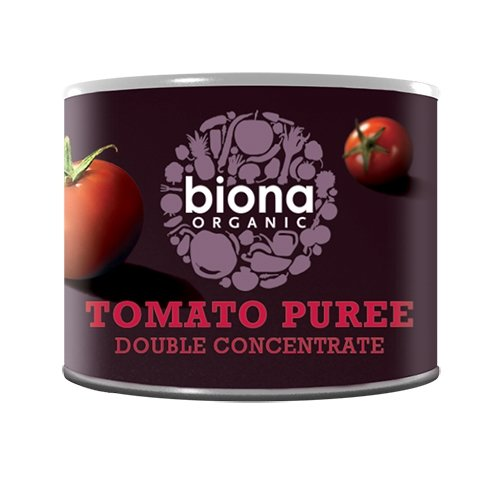 Organic Double Concentrated Italian Tomato Purée 70g by Biona