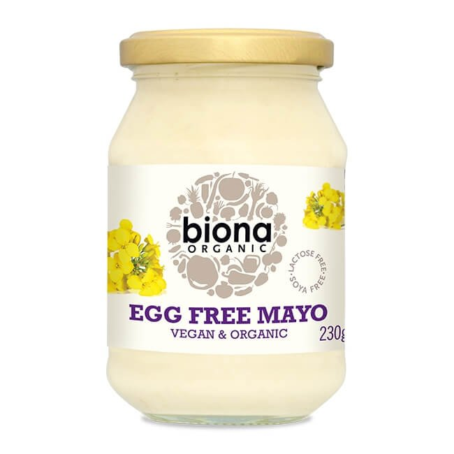 Organic Egg Free Vegan Mayonnaise 230g by Biona