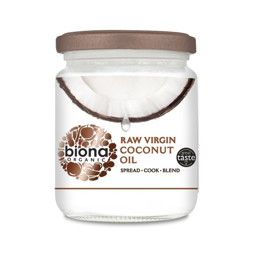 Organic Raw Virgin Cold-Pressed Coconut Oil 200g by Biona