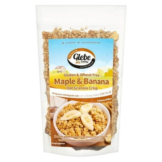 Maple & Banana Oat Granola 325g by Glebe Farm