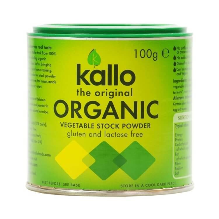Organic Natural Vegetable Stock Powder 100g by Kallo