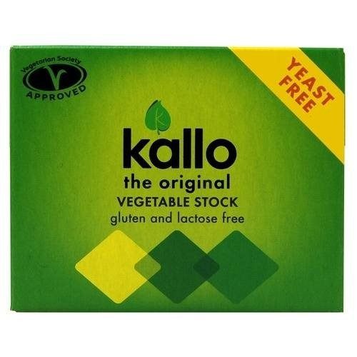 Organic Vegetable Yeast-Free Natural Stock Cubes 60g by Kallo