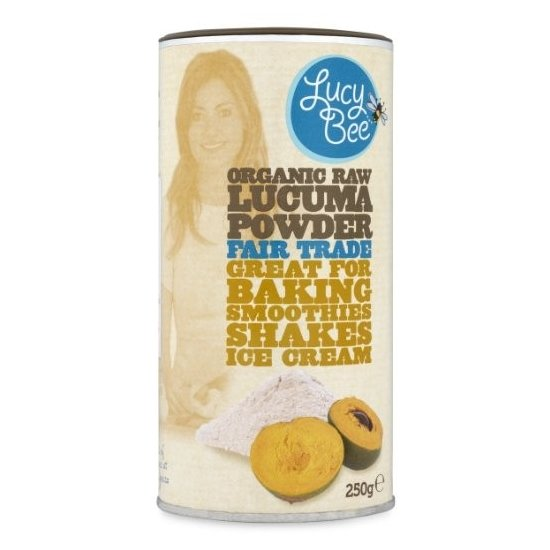 Organic Fairtrade Raw Lucuma Powder 250g by Lucy Bee