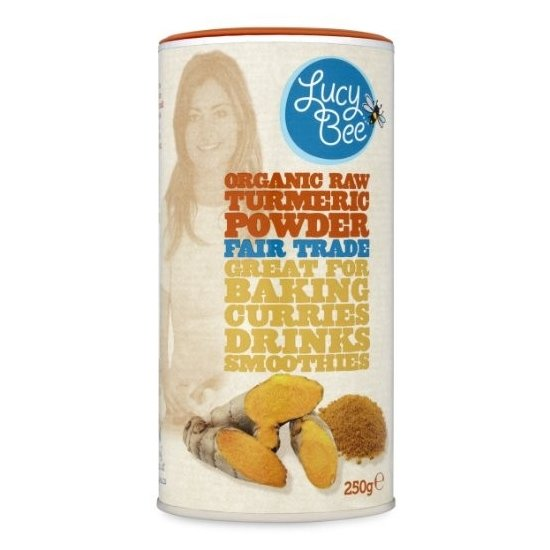 Organic Fairtrade Raw Turmeric Powder 250g by Lucy Bee