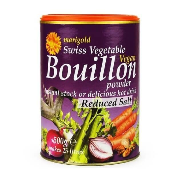 Organic Reduced Salt Swiss Vegetable Bouillon Powder 500g by Marigold