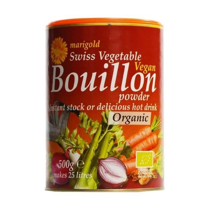 Organic Swiss Vegetable Bouillon Powder 500g by Marigold