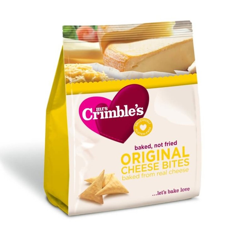 Baked Cheese Snack Bites 60g by Mrs Crimble's