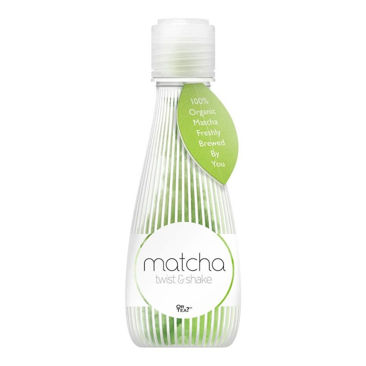 100% Organic Chinese Matcha Green Tea Twist & Shake Drink 500ml by Or Tea?