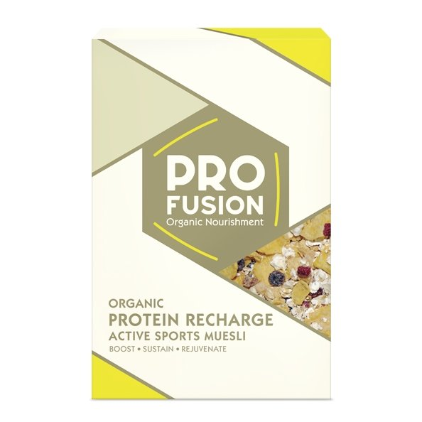 Organic Protein Recharge Muesli 325g by Profusion