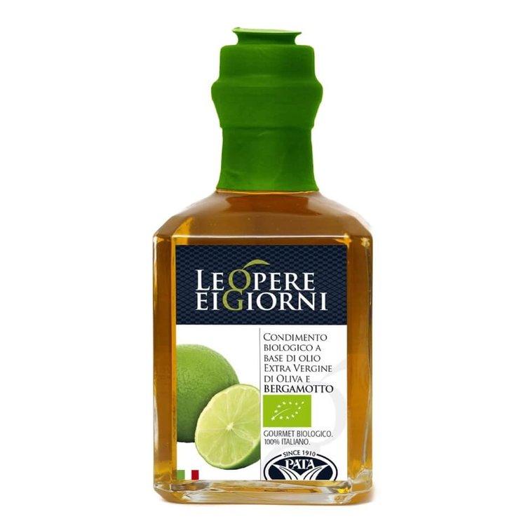 Organic Bergamot Infused Extra Virgin Olive Oil 250ml (Italian)