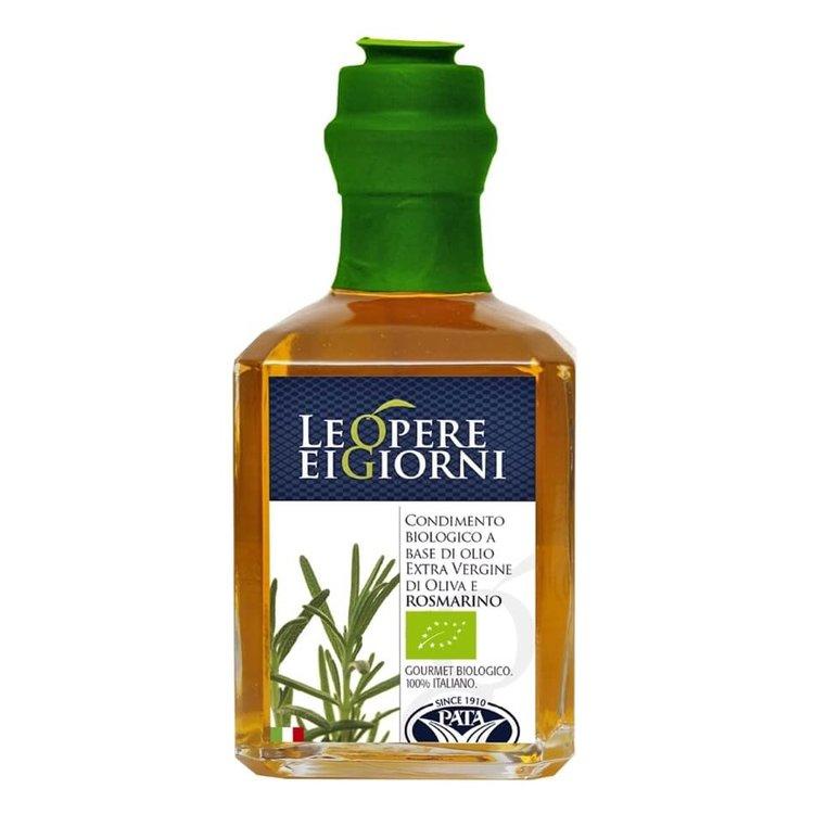 Organic Rosemary Infused Extra Virgin Olive Oil 250ml (Italian)