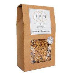 Gluten Free Quinoa & Buckwheat Granola Bag 450g