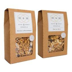 Oat & Nut and Quinoa & Buckwheat Granolas 2 x 450g