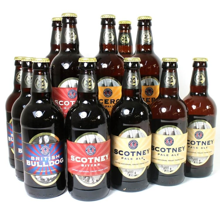 Gluten-Free Westerham Craft Beer 12 Bottle Mixed Case