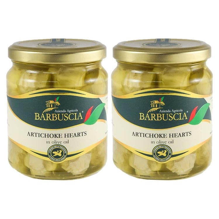 Italian Artichoke Hearts In Sicilian Olive Oil 2 x 314ml