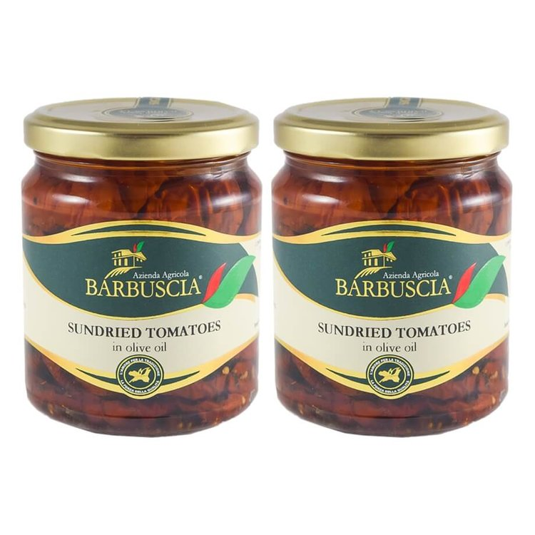 Sicilian Sun-Dried Tomatoes In Olive Oil 2 x 314ml