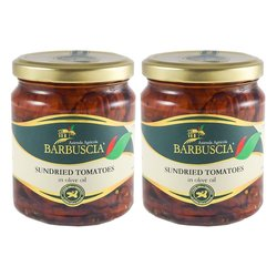 Sicilian Sun-Dried Tomatoes In Olive Oil 2 x 314ml