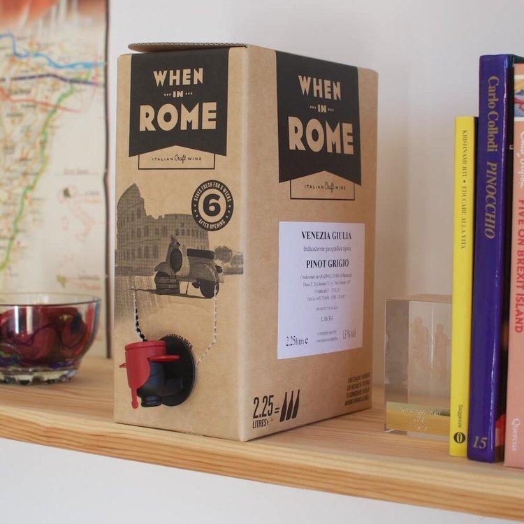Pinot Grigio IGT Venezia Giulia White Wine 2.25 Litre Italian Wine Box (3 Bottles) ABV 12%