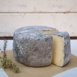 500g Stahtotyri 'Ash' Aged Yellow Greek Cheese Naxos by Koufopoulos