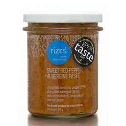 Sweet Red Pepper & Aubergine Paste (Handmade) 200g