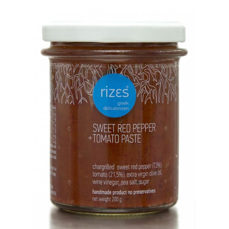 Sweet Red Pepper & Tomato Paste (Handmade) 200g