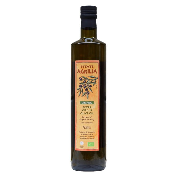Organic Extra Virgin Koroneiki Olive Oil 750ml