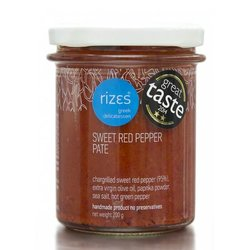 Sweet Chargilled Red Pepper Pate (Handmade) 200g
