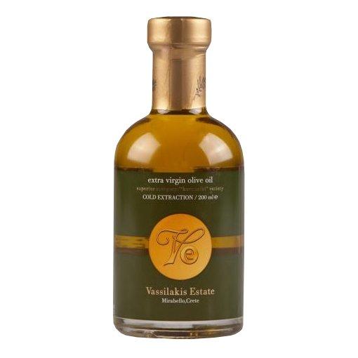Vassilakis Estate Extra Virgin, Cold Pressed Koroneiki Olive Oil 200ml