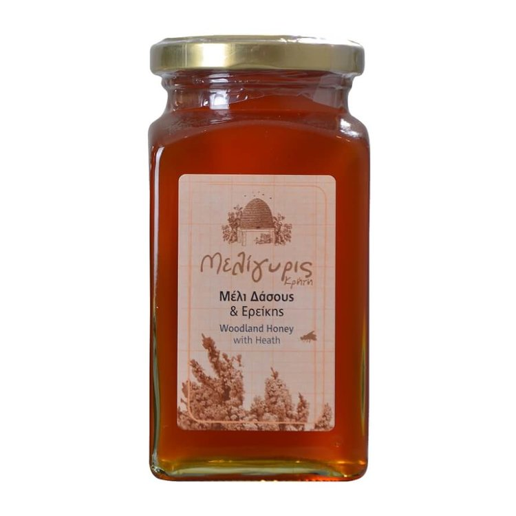 450g Cretan Woodland Premium Honey with Heather