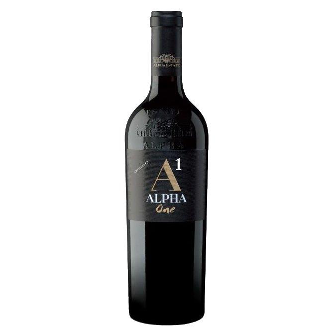Merlot Alpha Estate One Greek Red Wine 2008