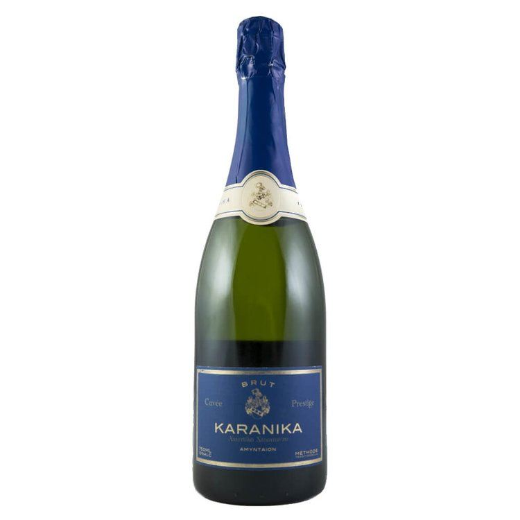 Karanika Cuvee Prestige Brut Assyrtiko-Xinomavro Sparkling White Wine 2013 12.3% Vol