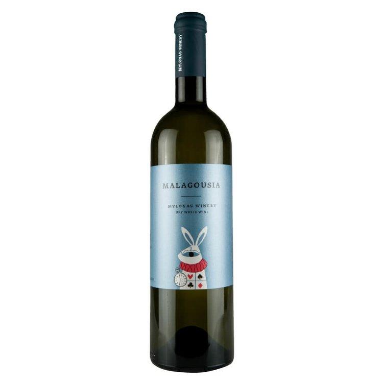 Malagouzia Attiki Mylonas Winery White Wine PGI 2015 12% Vol