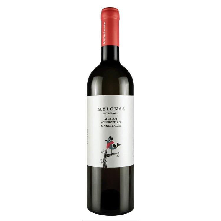 Merlot-Agiorgitiko-Mandilaria Attikie Red Wine PGI 2014 13.5% Vol