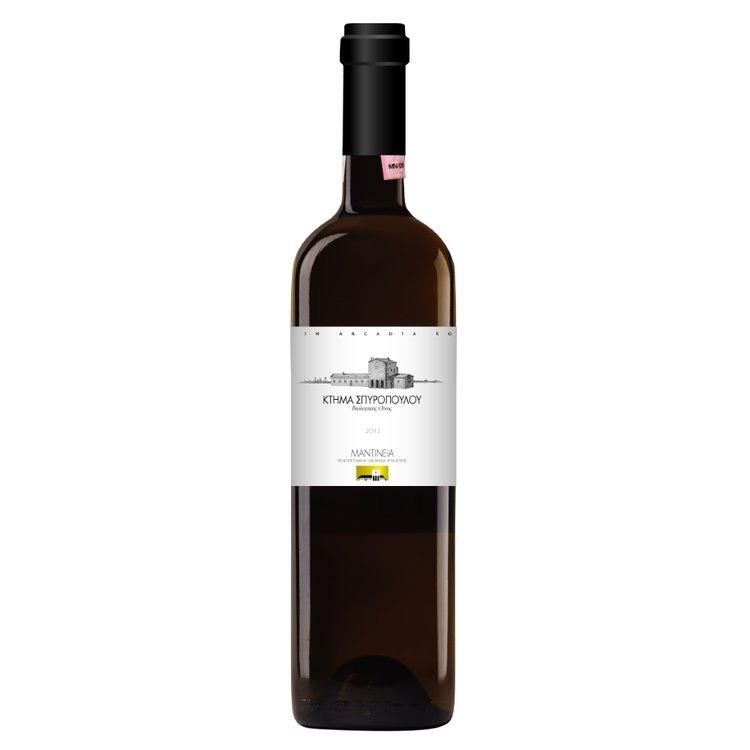 Organic Moschofilero Mantinia Domaine Spiropoulos Mantinia White Wine PDO 2015