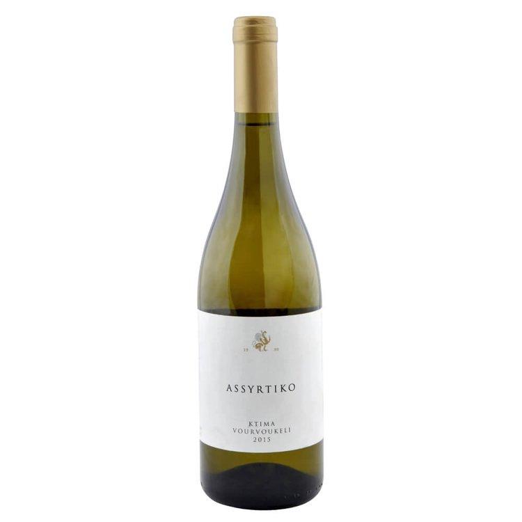 Assyrtiko Ktima Vourvoukeli Dry White Wine 2015