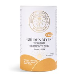 Classic Turmeric Latte Blend (Instant 'Golden Mylk' , with Coconut Milk - Vegan & Organic) 150g