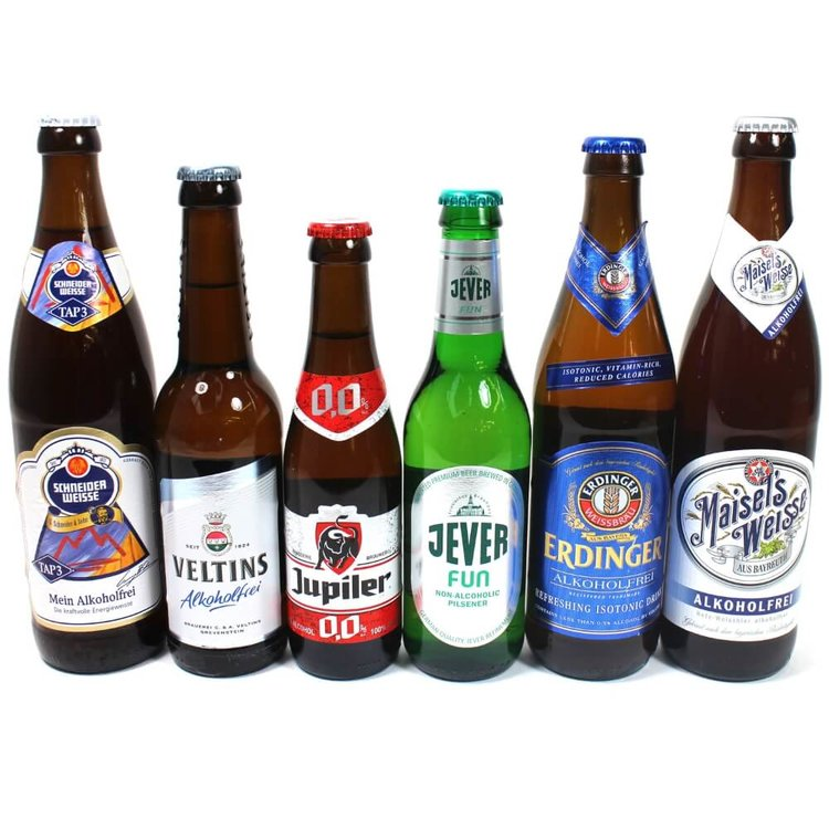 Low Alcohol & Alcohol-Free Beer 6 Bottle Mixed Case (Inc. Erdinger, Maisel's)