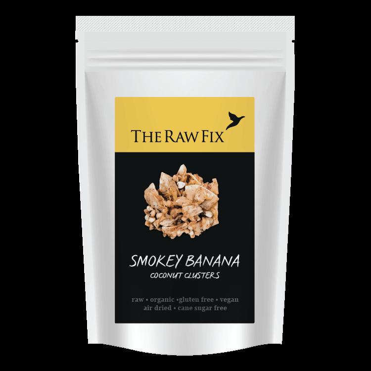 Raw Smokey Banana Coconut Clusters Snack 30g (Organic)