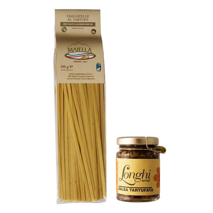 Truffle Pasta & Sauce Gift Set (Truffle Tagliatelle and Mushrooms & Truffle Sauce)