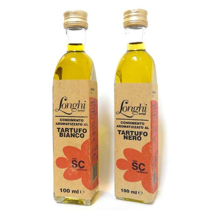 Black & White Truffle Olive Oil Gift Set (2 x 100ml) 'Tartufo Bianco & Nero'