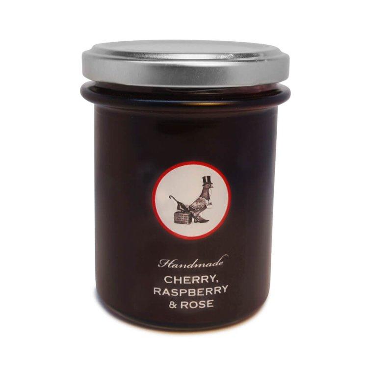 Cherry, Raspberry & Rose Handmade Jam 240g