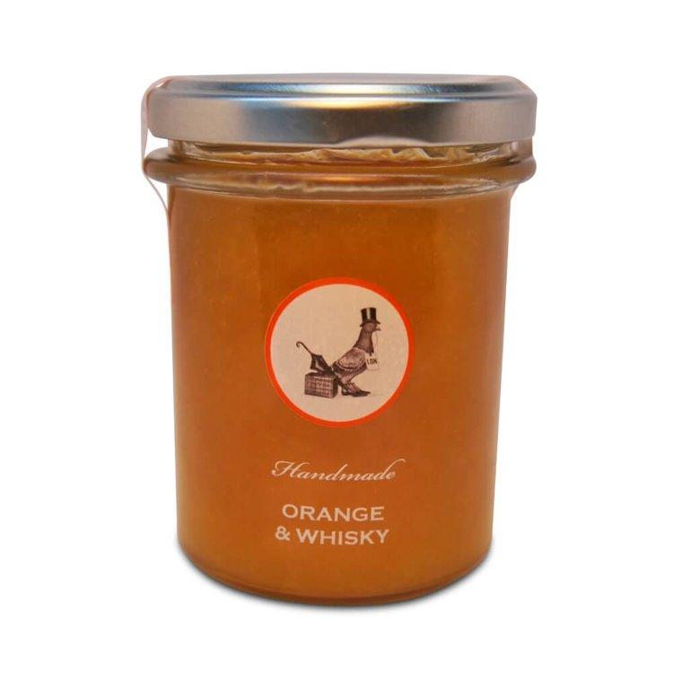 Orange & Whisky Handmade Jam 240g