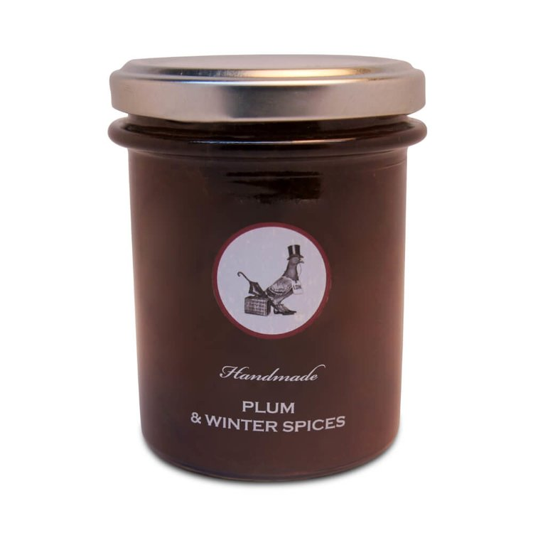 Plum & Winter Spices Handmade Jam 240g